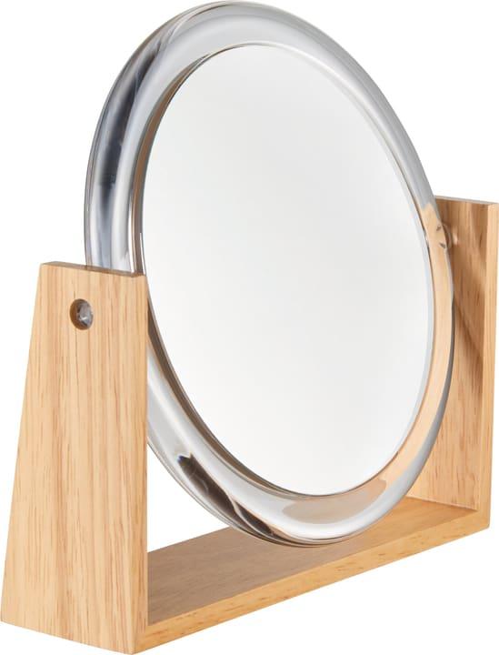 ZAIRA Miroir 442083900400 Couleur Transparent Dimensions L: 16.7 cm x P: 4.5 cm x H: 16.2 cm Photo no. 1