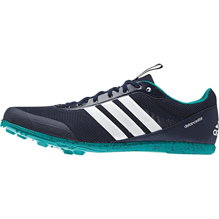 Distancestar Herren-Nagelschuh Adidas 461659242022 Farbe dunkelblau Grösse 42 Bild-Nr. 1