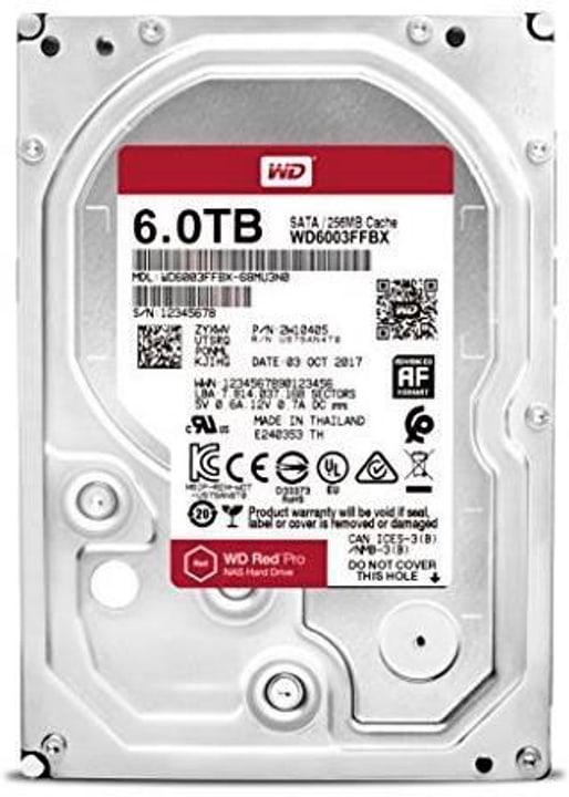 """disco rigido interno Red PRO 6TB NAS SATA 3.5"""" HDD NAS Western Digital 785300137855 N. figura 1"""