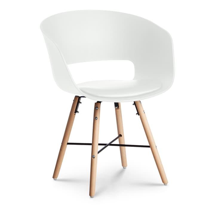 KIMO Stuhl 366152600010 Grösse B: 57.0 cm x T: 54.0 cm x H: 75.0 cm Farbe Weiss Bild Nr. 1