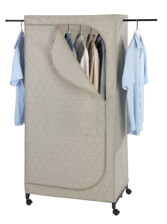 Kleiderschrank Balance Taupe WENKO 678525800000 Bild Nr. 1
