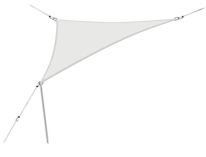Triangolare 360 x 360 cm Vela parasole 753147200081 Colore del rivestimento Grigio chiaro N. figura 1