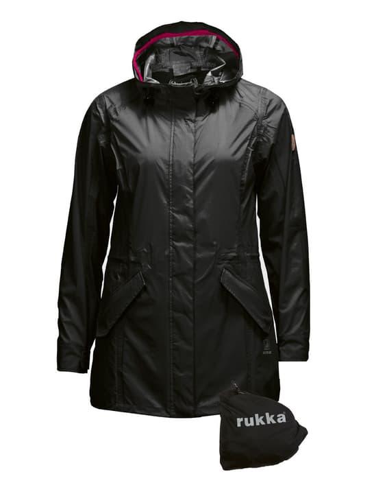 Elenor Damen-Regenjacke Rukka 498430203420 Grösse 34 Farbe schwarz Bild-Nr. 1
