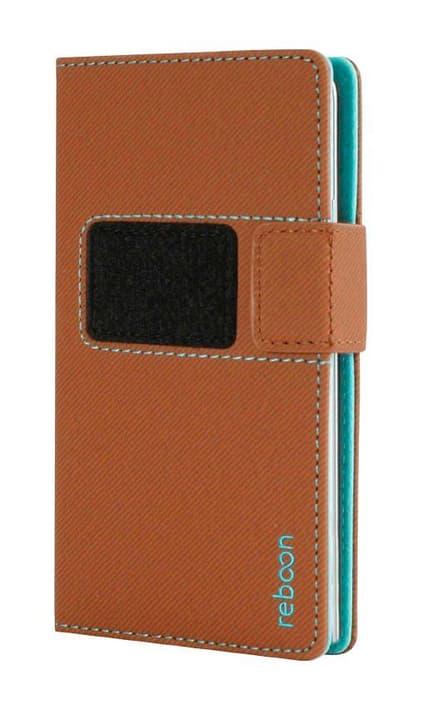 Mobile Booncover XS Hülle braun Flip Case reboon 785300125743 Bild Nr. 1