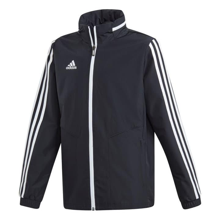 Tiro 19 All-Weather Jacke Kinder-Kapuzenjacke Adidas 466937112820 Farbe schwarz Grösse 128 Bild-Nr. 1