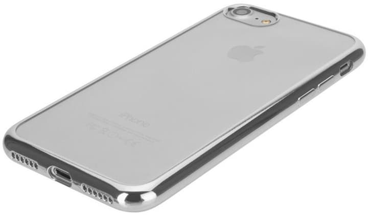 Flex Case Chromed Edge iPhone 6/6S/7/8 argent XQISIT 798301700000 Photo no. 1