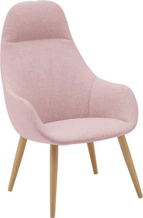 FRIEDA Sessel 402475507038 Farbe Rosa Grösse B: 65.0 cm x T: 74.0 cm x H: 103.0 cm Bild Nr. 1