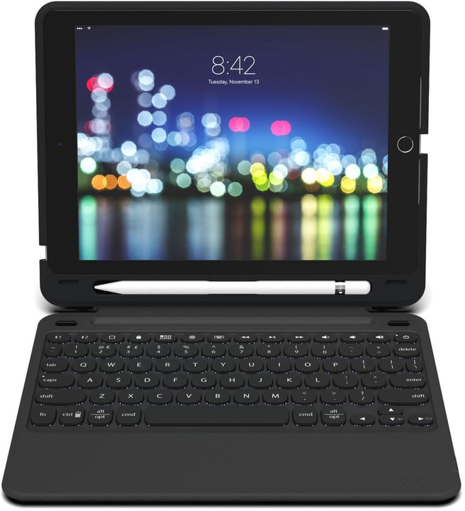 """SlimBookGo CH-Layout, pour iPad 9.7"""" Cover Zagg 785300145803 Photo no. 1"""