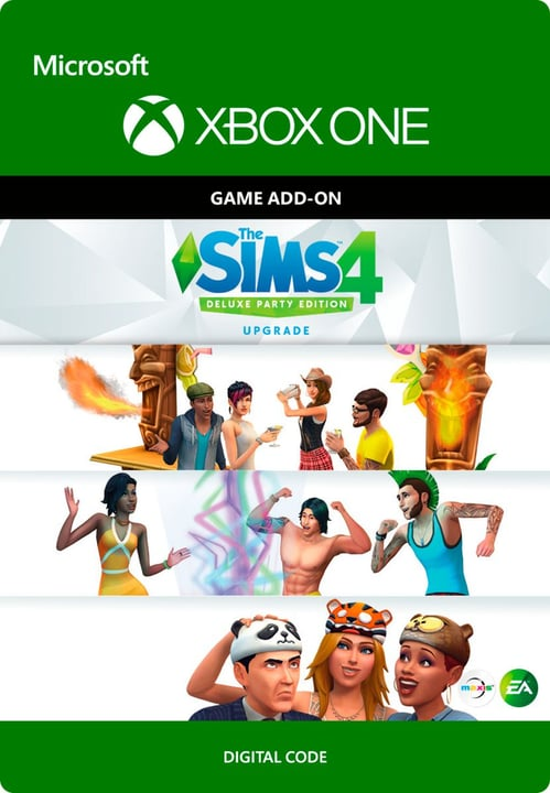 Xbox One - The SIMS 4: Deluxe Party Upgrade Download (ESD) 785300136308 Photo no. 1