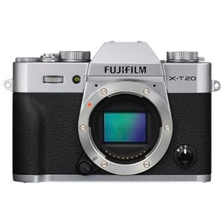 X-T20 silber Systemkamera Body FUJIFILM 785300125828 Bild Nr. 1