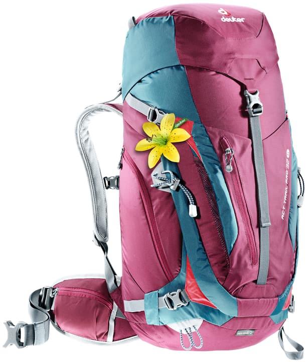 ACT Trail Pro 32 SL ACT Trail Pro 32 SL Deuter 460244200017 Colore lampone Taglie Misura unitaria N. figura 1