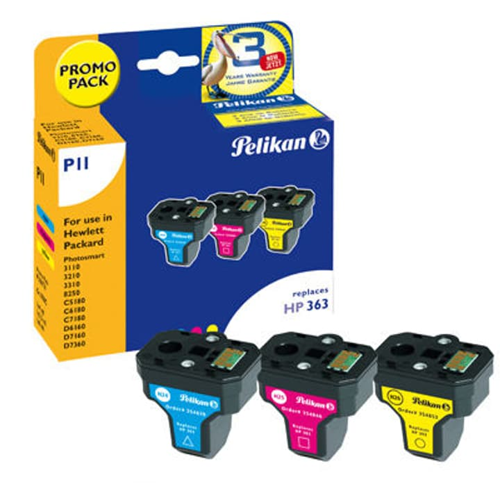 C8771EE HP363, C8772EE HP363, C8773EE HP363 color Pelikan 797529000000 Photo no. 1