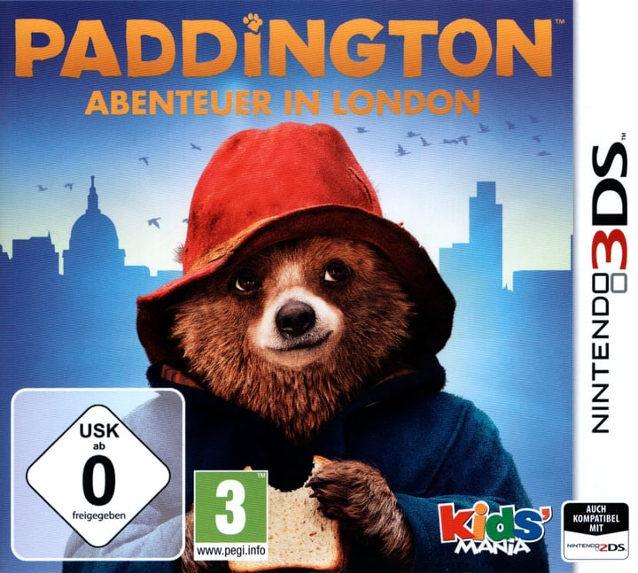 3DS - Paddington Abenteuer in London Physique (Box) 785300119799 Photo no. 1