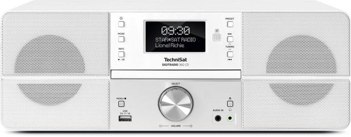 DigitRadio 360 CD - Blanc Micro HiFi System Technisat 785300139551 Photo no. 1
