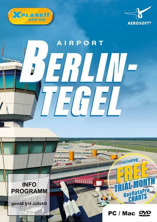 PC - Airport Berlin-Tegel für X-Plane 11 D Fisico (Box) 785300133147 N. figura 1