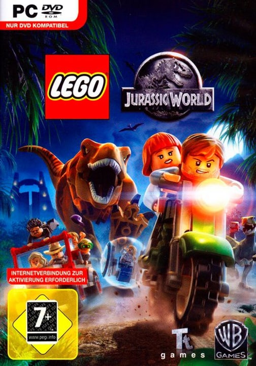 PC - Pyramide: LEGO Jurassic World Box 785300122424 N. figura 1