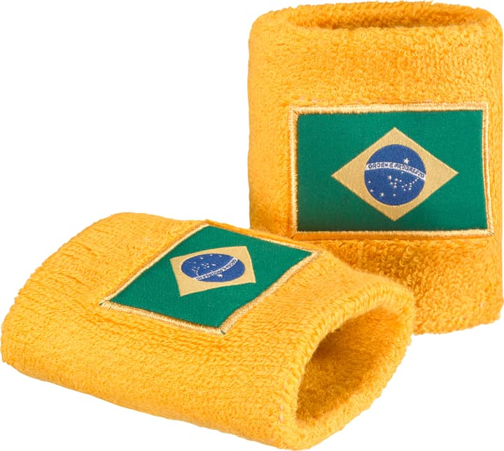 Brésil Serre-poignets aux couleurs du Brésil Extend 461936299950 Couleur jaune Taille one size Photo no. 1