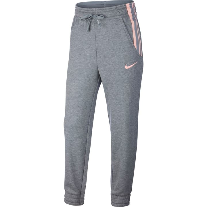 Girls' Fleece Training Pants Pantalon de loisirs pour fille Nike 466942015280 Couleur gris Taille 152 Photo no. 1