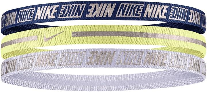 METALLIC HAIRBAND 3 PACK Stirnband metallic Nike 464905499922 Farbe dunkelblau Grösse one size Bild-Nr. 1