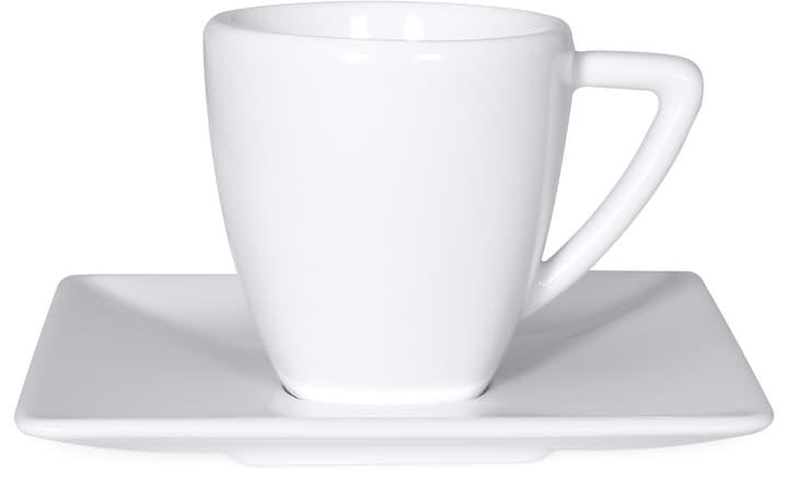 ASIA Espressotasse mit Unterteller Cucina & Tavola 700159700005 Farbe Weiss Grösse B: 11.3 cm x T: 6.4 cm x H:  Bild Nr. 1