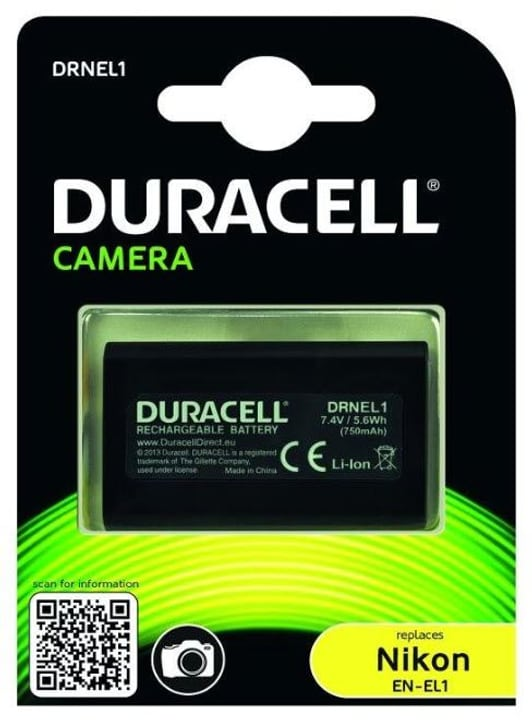 Batteria Duracell EN-EL1 Nikon Replika 9000031222 No. figura 1