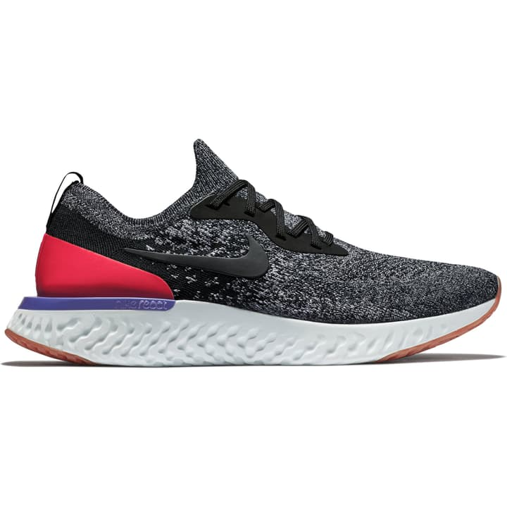 Epic React Flyknit Scarpa da uomo running Nike 463224444020 Colore nero Taglie 44 N. figura 1