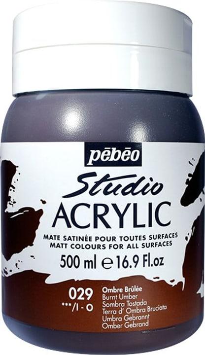 Pébéo High Viscosity Studio 500ml Pebeo 663534271029 Couleur Ombre Brulée Photo no. 1