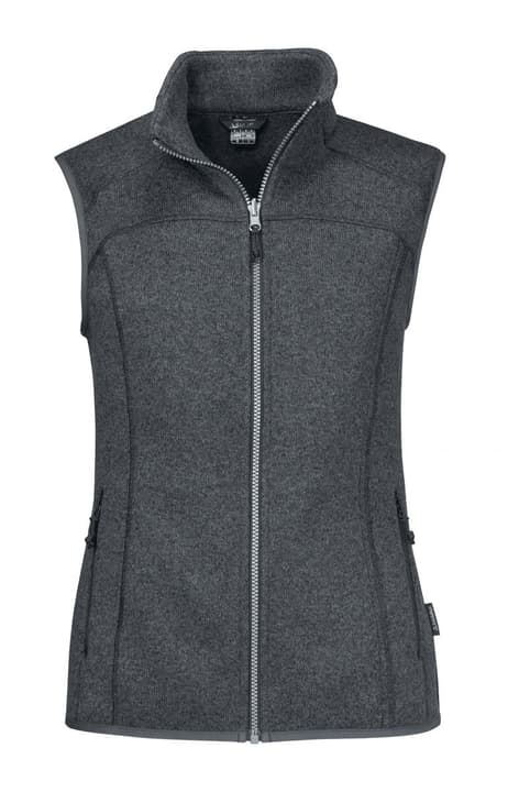 ZipIn! Fleece Vest Valdez Veste en polaire pour femme Schöffel 462753903683 Couleur gris foncé Taille 36 Photo no. 1