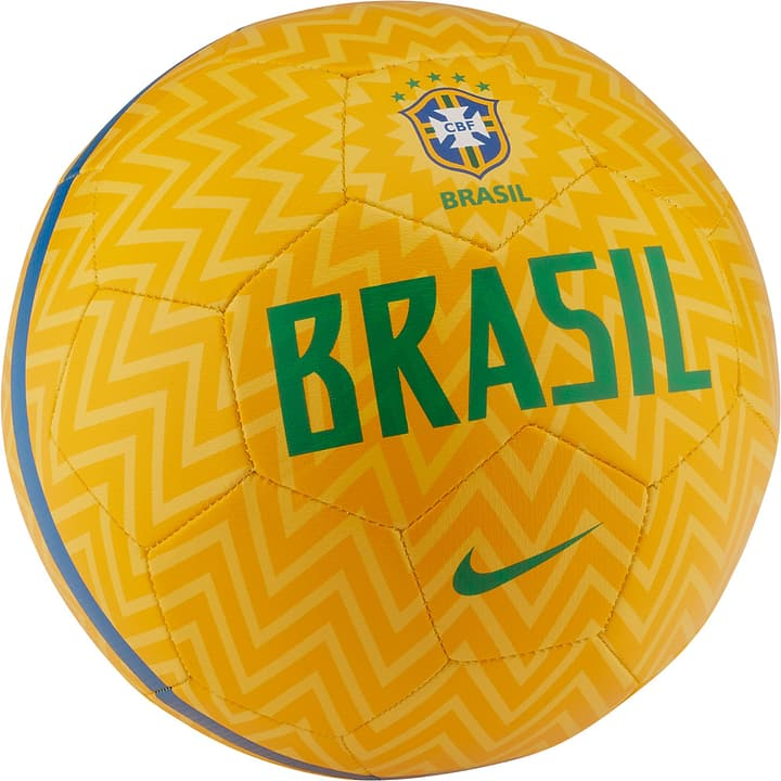 CBF Prestige Ballon de football Brésil Nike 461934200550 Couleur jaune Taille 5 Photo no. 1