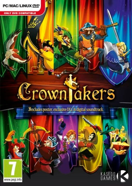 PC - Crowntakers Download (ESD) 785300133367 Photo no. 1