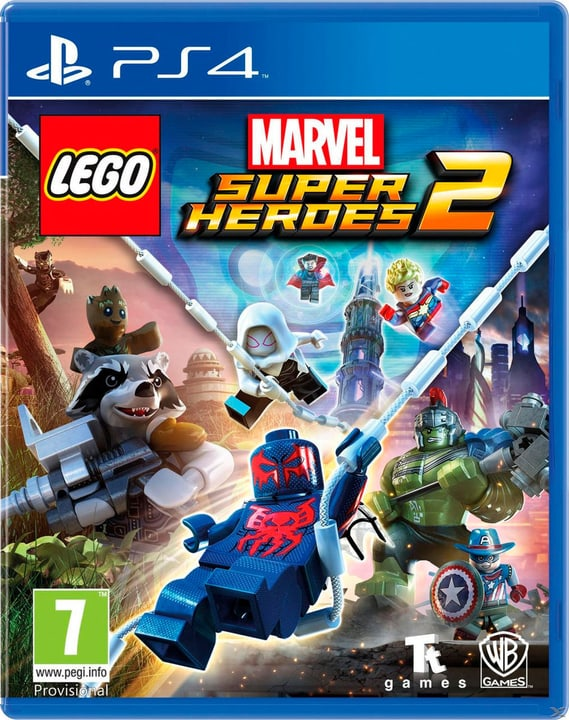 PS4 - LEGO Marvel Super Heroes 2 Box 785300128180 N. figura 1