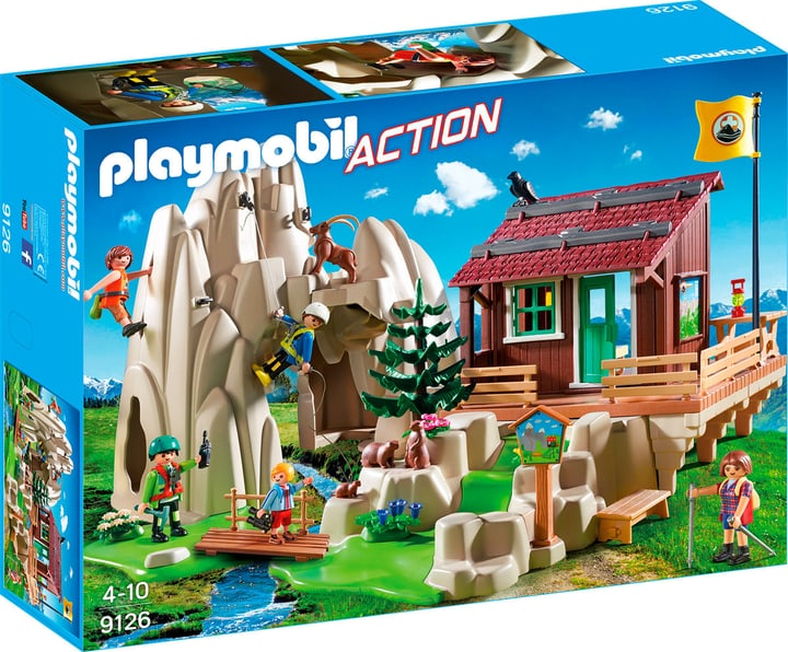 Playmobil Action Rocher d'escalade avec espace d'accueil 9126 746074200000 Photo no. 1