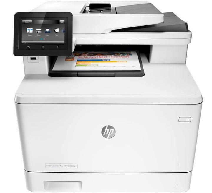 Color LaserJet Pro M477fdn MFP HP 785300125240 N. figura 1