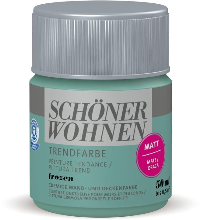 Vernice di tendenza opaca tester Frozen 50 ml Schöner Wohnen 660941600000 Colore Frozen Contenuto 50.0 ml N. figura 1
