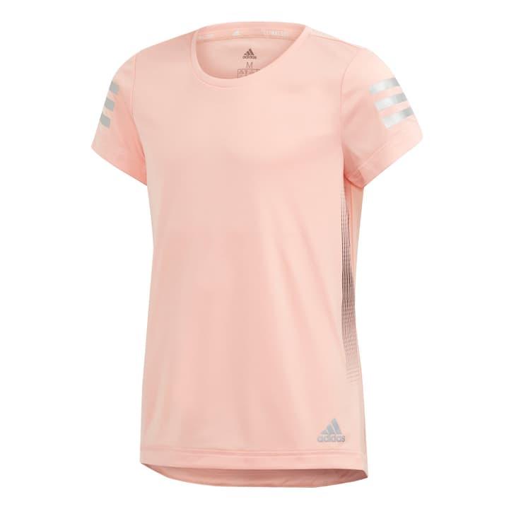 Run Tee Mädchen-T-Shirt Adidas 466937812852 Farbe lachs Grösse 128 Bild-Nr. 1