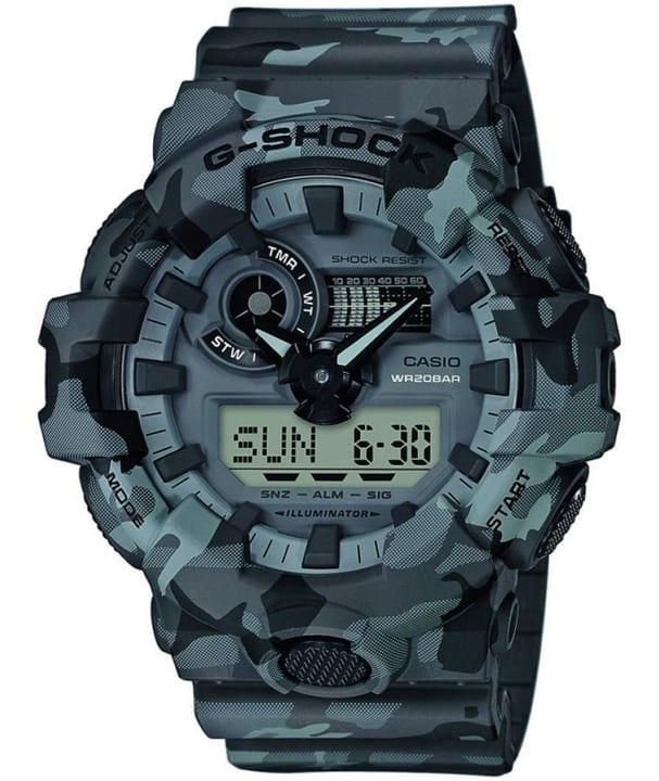 GA-700CM-8AER Super-Illumi G-Shock 785300145422 Bild Nr. 1