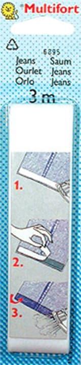 Orlo di Jeans 30mmx3m Multifort 665423100000 N. figura 1