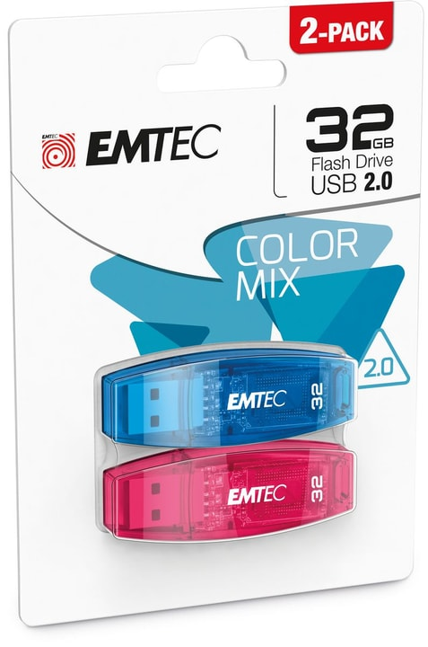 Chiavetta USB 32GB C-410 Duo USB 2.0 Emtec 798250900000 N. figura 1
