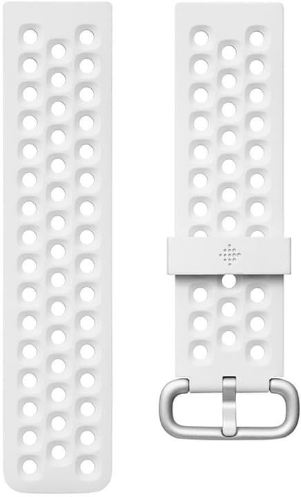 Versa 2 Bracelet sport, White Small Fitbit 798715500000 Photo no. 1