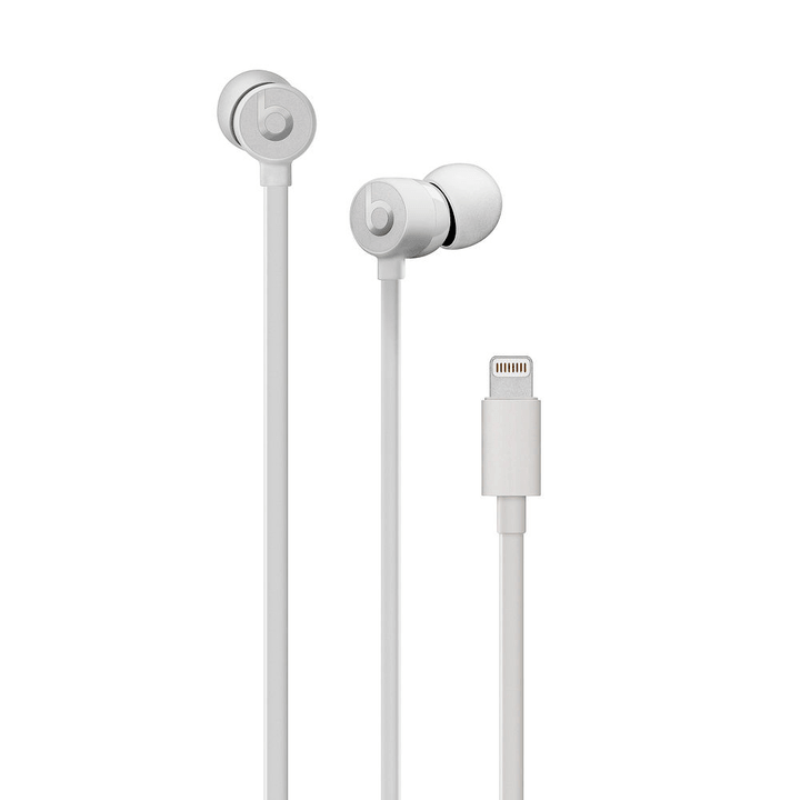 urBeats 3 Earphones avec Lightning Connector, Satin Silver Casque In-Ear Beats By Dr. Dre 785300139203 Photo no. 1