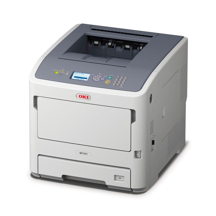 B731dnw Mono Duplex und WiFi Drucker OKI 785300124134 Bild Nr. 1