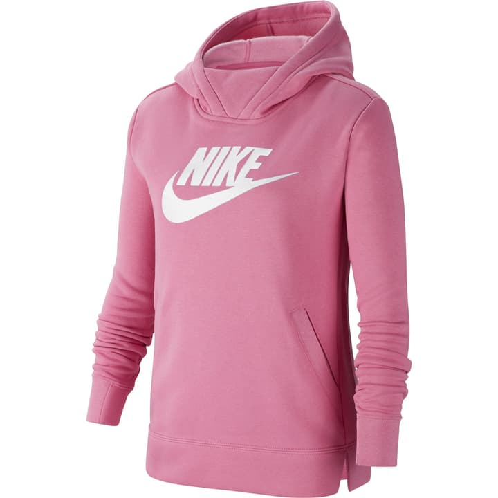 Sportswear Hoodie Pull-over à capuche pour fille Nike 466975214029 Couleur magenta Taille 140 Photo no. 1