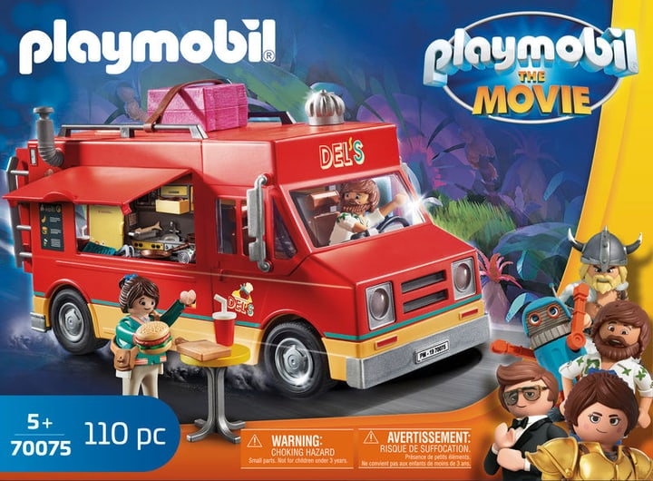 Playmobil 70075 The Movie Del Truck 748018800000 Photo no. 1