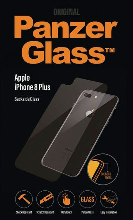 Backglass per iPhone 8 Plus Pellicola prottetiva Panzerglass 798616700000 N. figura 1