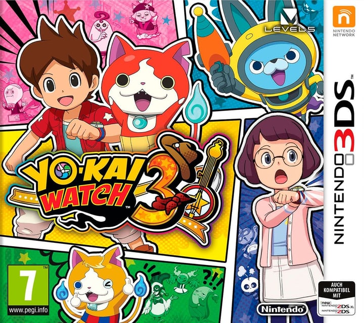 3DS - Yo-Kai Watch 3 (F) Box 785300139924 Bild Nr. 1