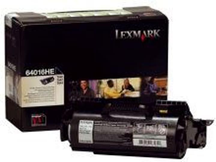 Cartouche toner prebate   noir Lexmark 785300124458 Photo no. 1