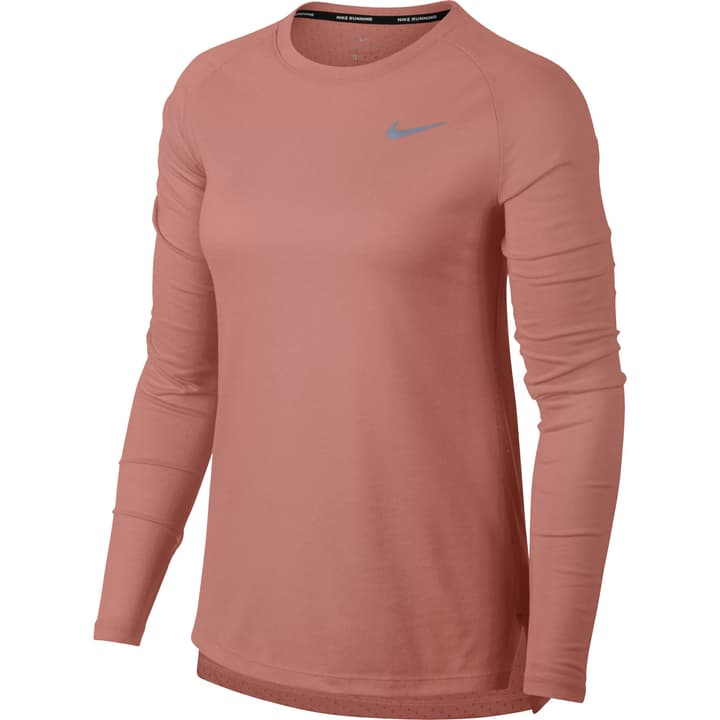 Tailwind Long-Sleeve Running Top Maillot à manches longues pour femme Nike 470142900639 Couleur vieux rose Taille XL Photo no. 1