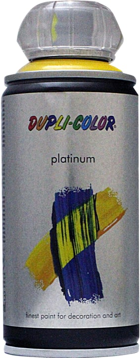 Peinture en aérosol Platinum brillante Dupli-Color 660833400000 Couleur Jaune Contenu 150.0 ml Photo no. 1