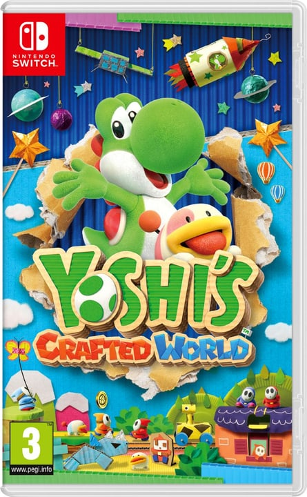 NSW - Yoshis Crafted World Box Nintendo 785300141476 Langue Italien Plate-forme Nintendo Switch Photo no. 1
