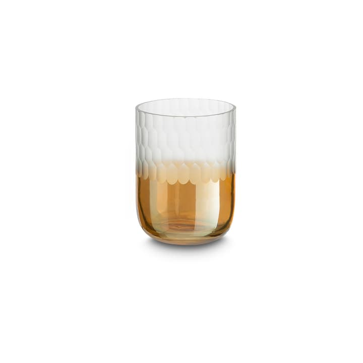 UGLAS Teelichthalter 390130100000 Grösse B: 7.5 cm x T: 7.5 cm x H: 10.0 cm Farbe Goldfarben Bild Nr. 1